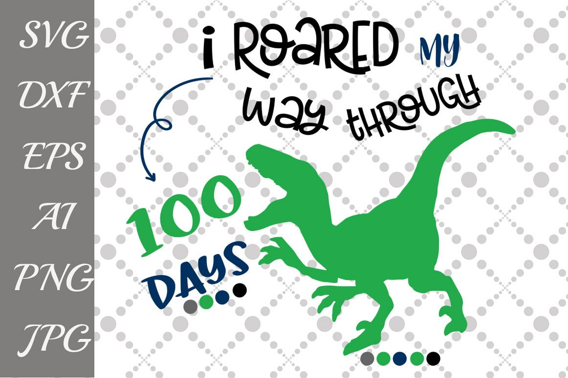 100th day of school Svg example image 1