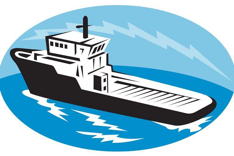 tug boat ship at sea example image 1