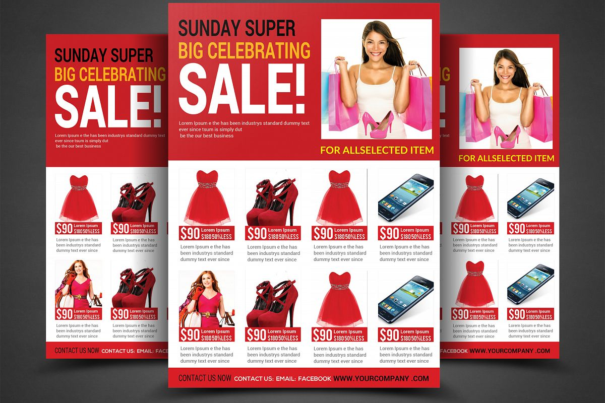 Sale Flyer example image 1