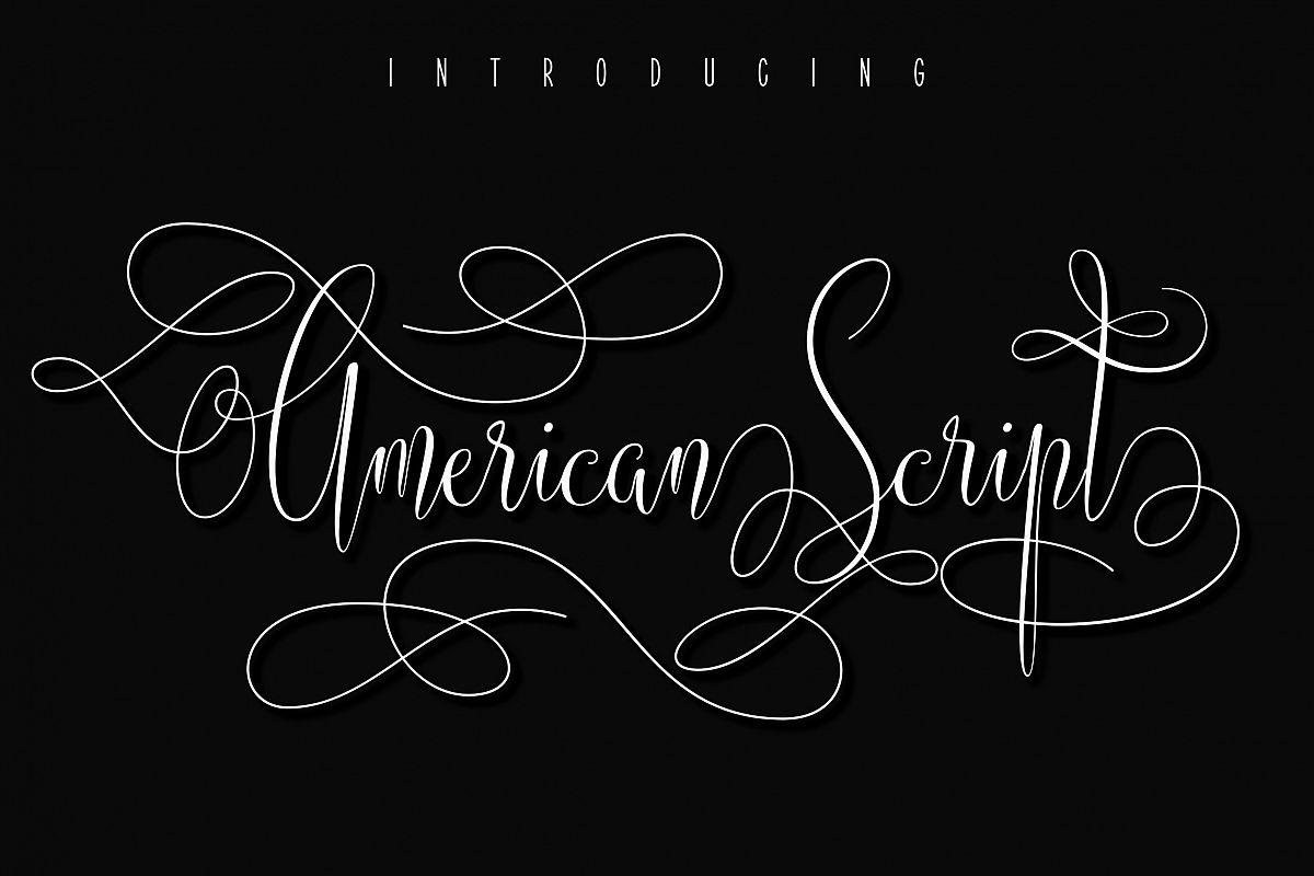 American Script example image 1