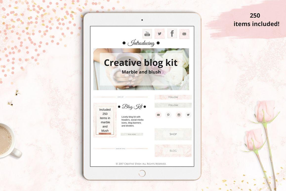 The Creative blog kit example image 1