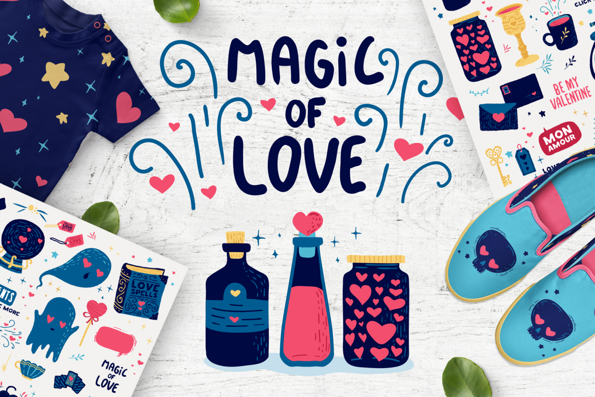 Magic of Love - Romantic set example image 1