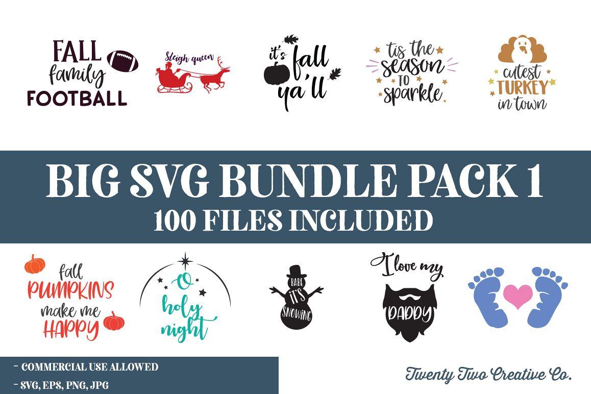 SVG Bundle The Huge SVG Bundle | SVG, EPS, PNG, JPG example image 1