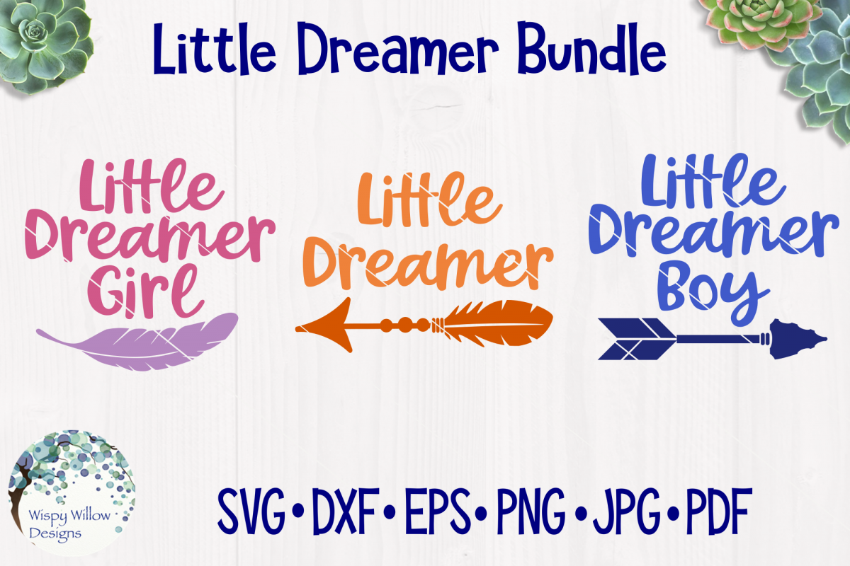 Little Dreamer Bundle | Baby SVG Cut Files example image 1