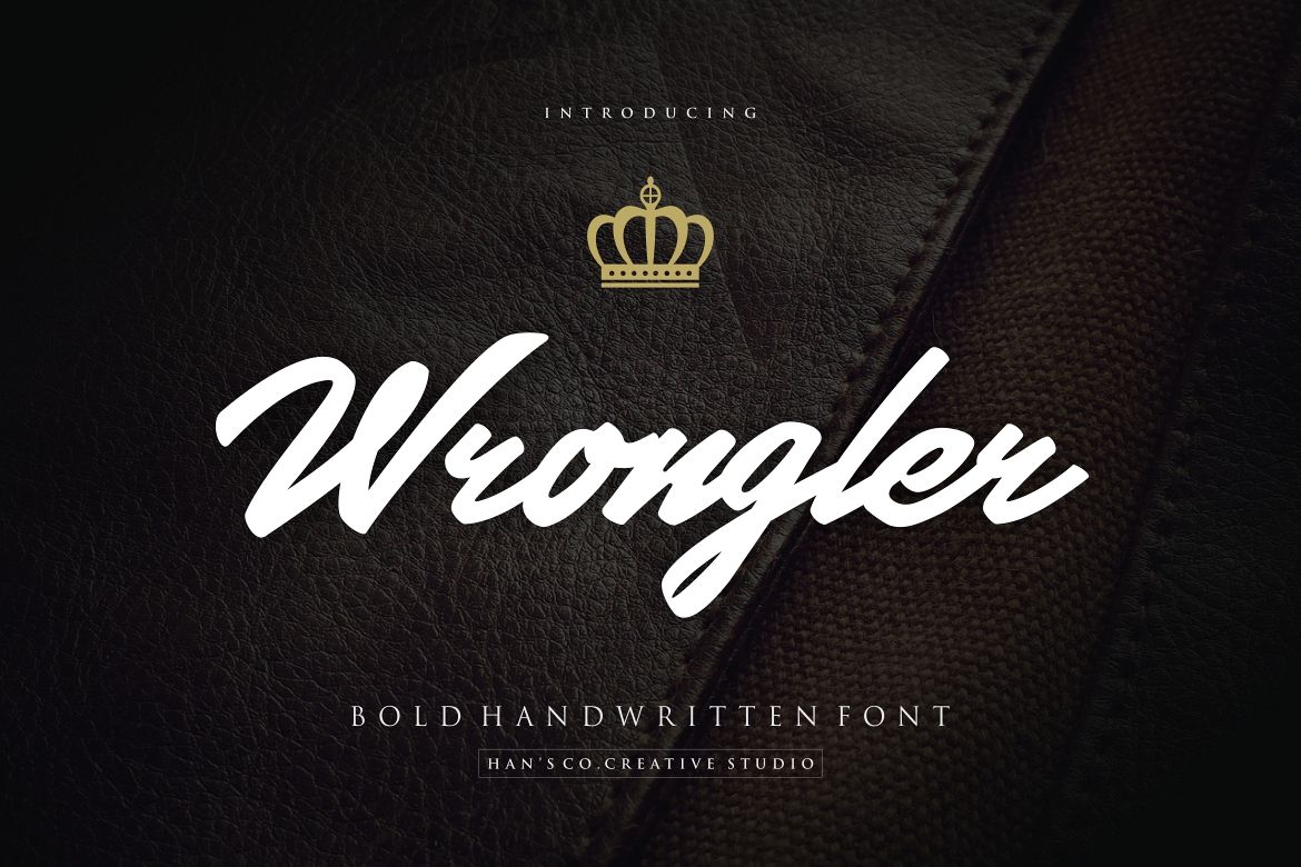 Wrongler Font example image 1