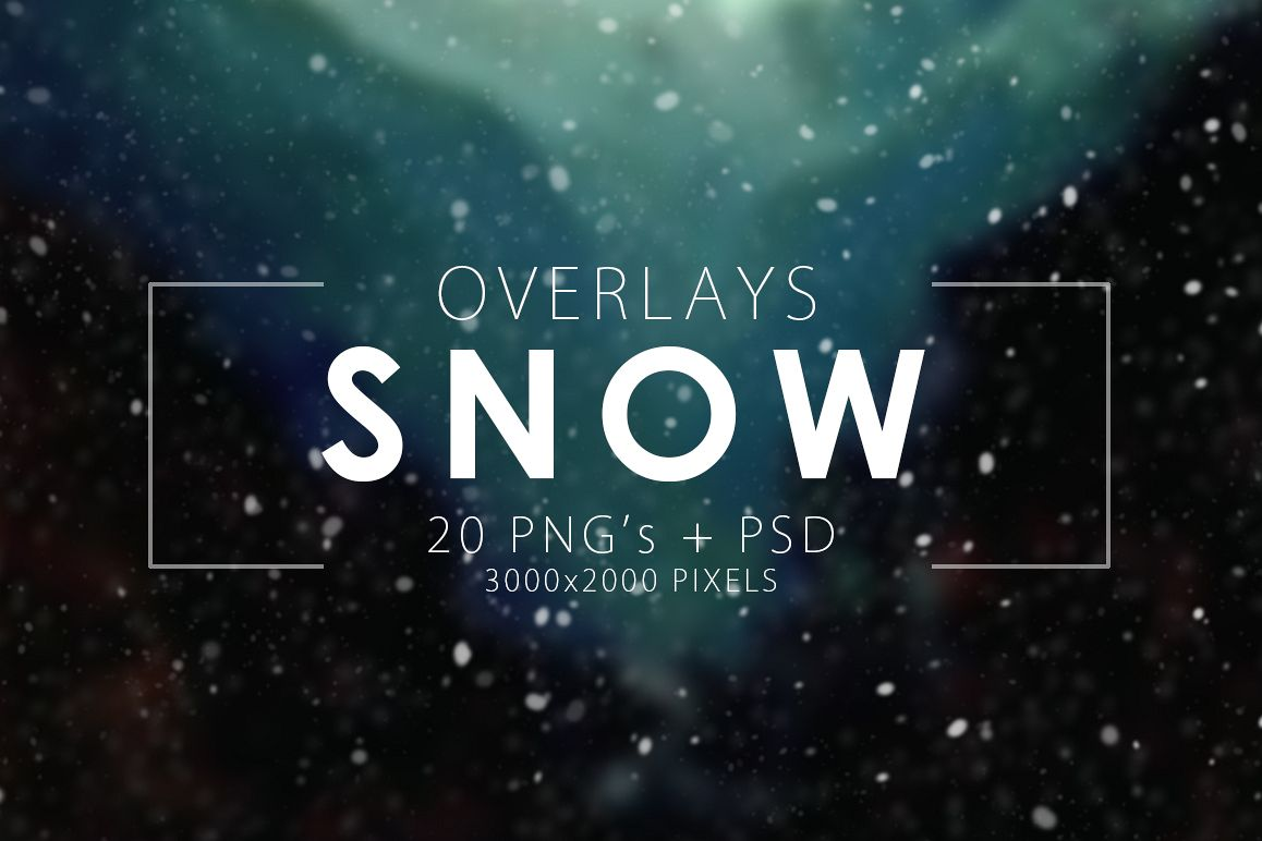 Snow Overlays example image 1