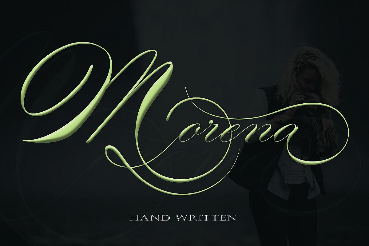 Morena Font example image 1
