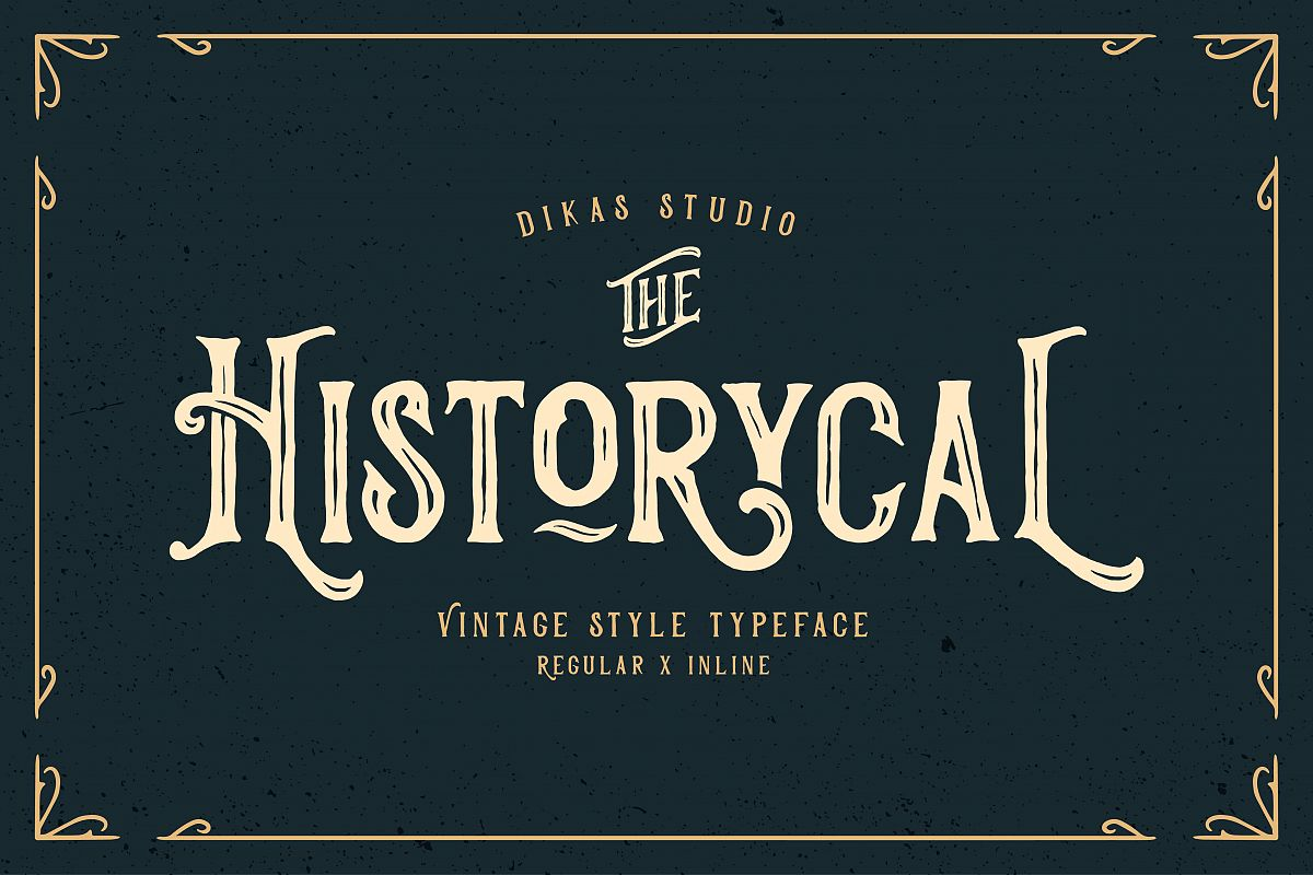 Historycal - 2 Font Styles example image 1