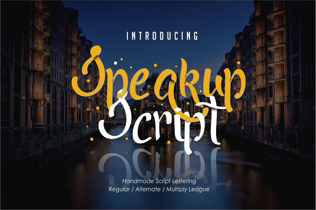 Speakup Script example image 1