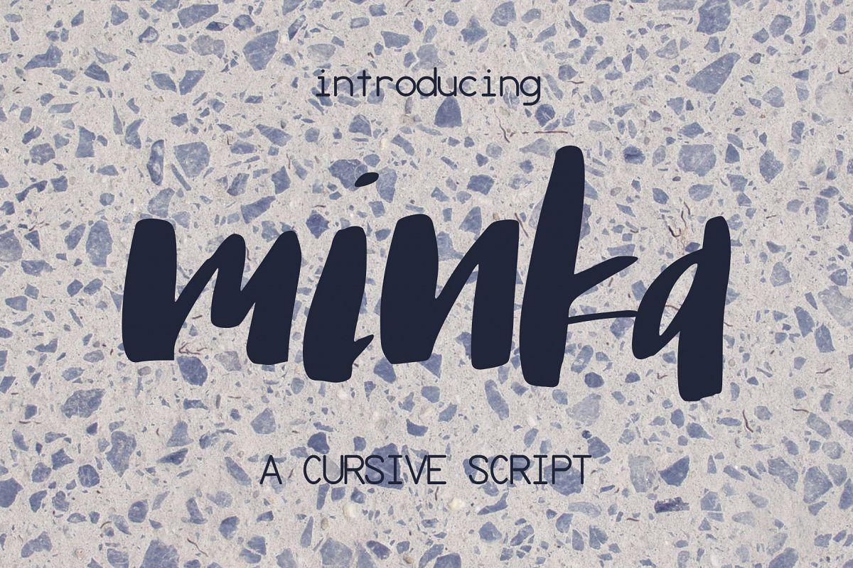 Minka Font example image 1
