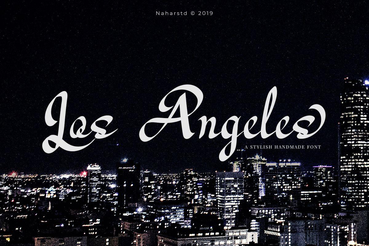 Los Angeles - Modern Script example image 1
