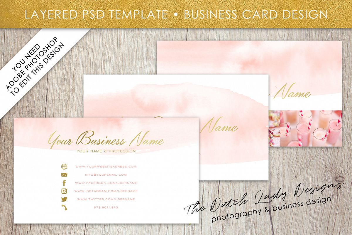 Business card template for adobe photoshop layered psd template business card template for adobe photoshop layered psd template design 2 example image cheaphphosting Gallery