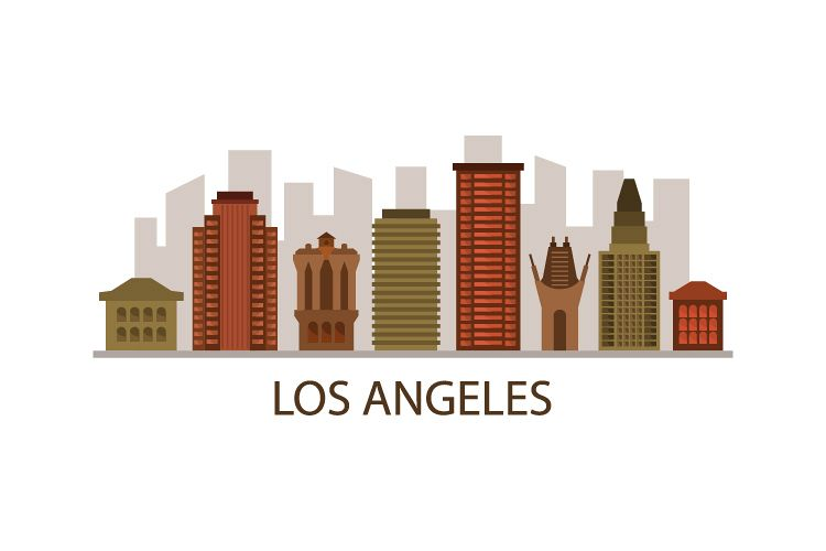 Los Angeles Skyline example image 1