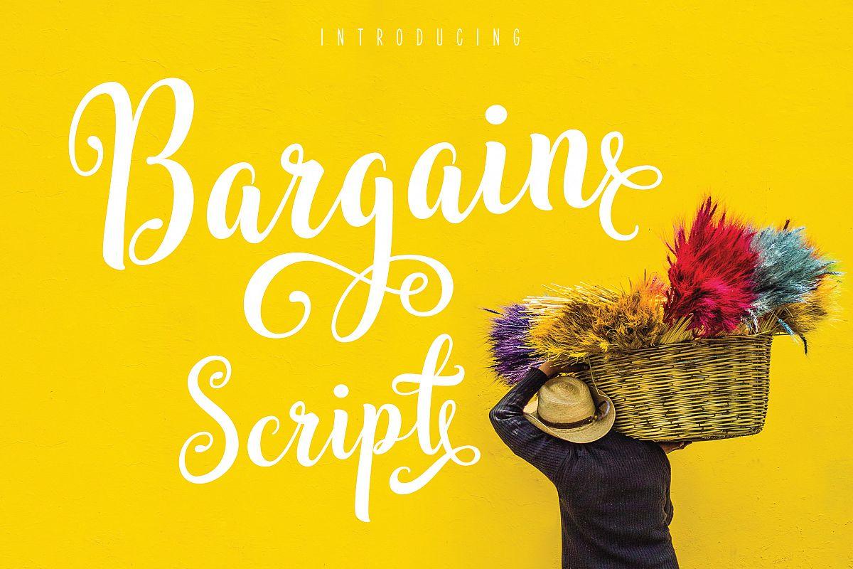 Bargain Script example image