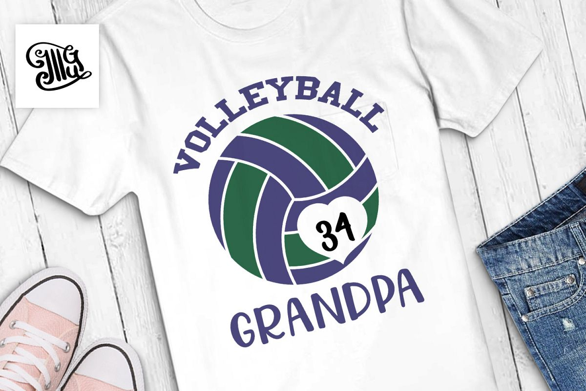 Volleyball grandpa example image 1