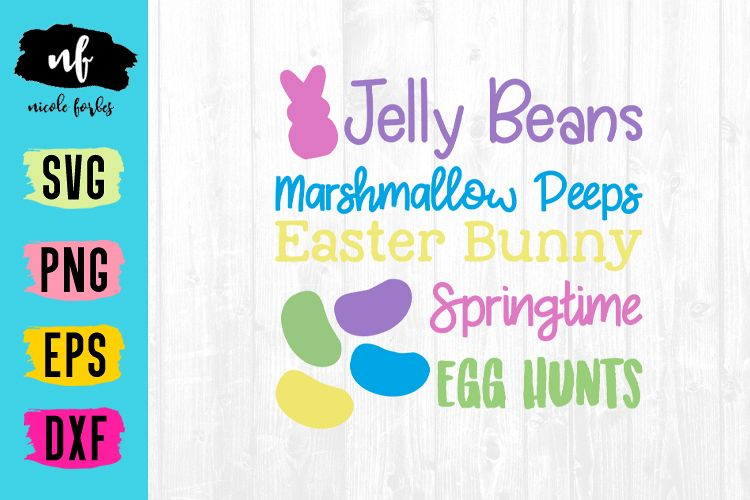Easter Time Cut SVG File example image 1