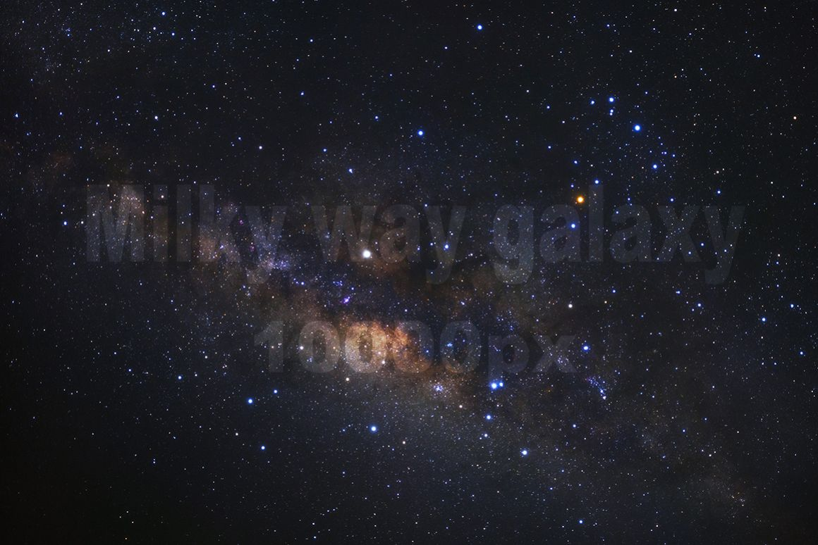Milky way galaxy ,High Resolution 10000px example image 1