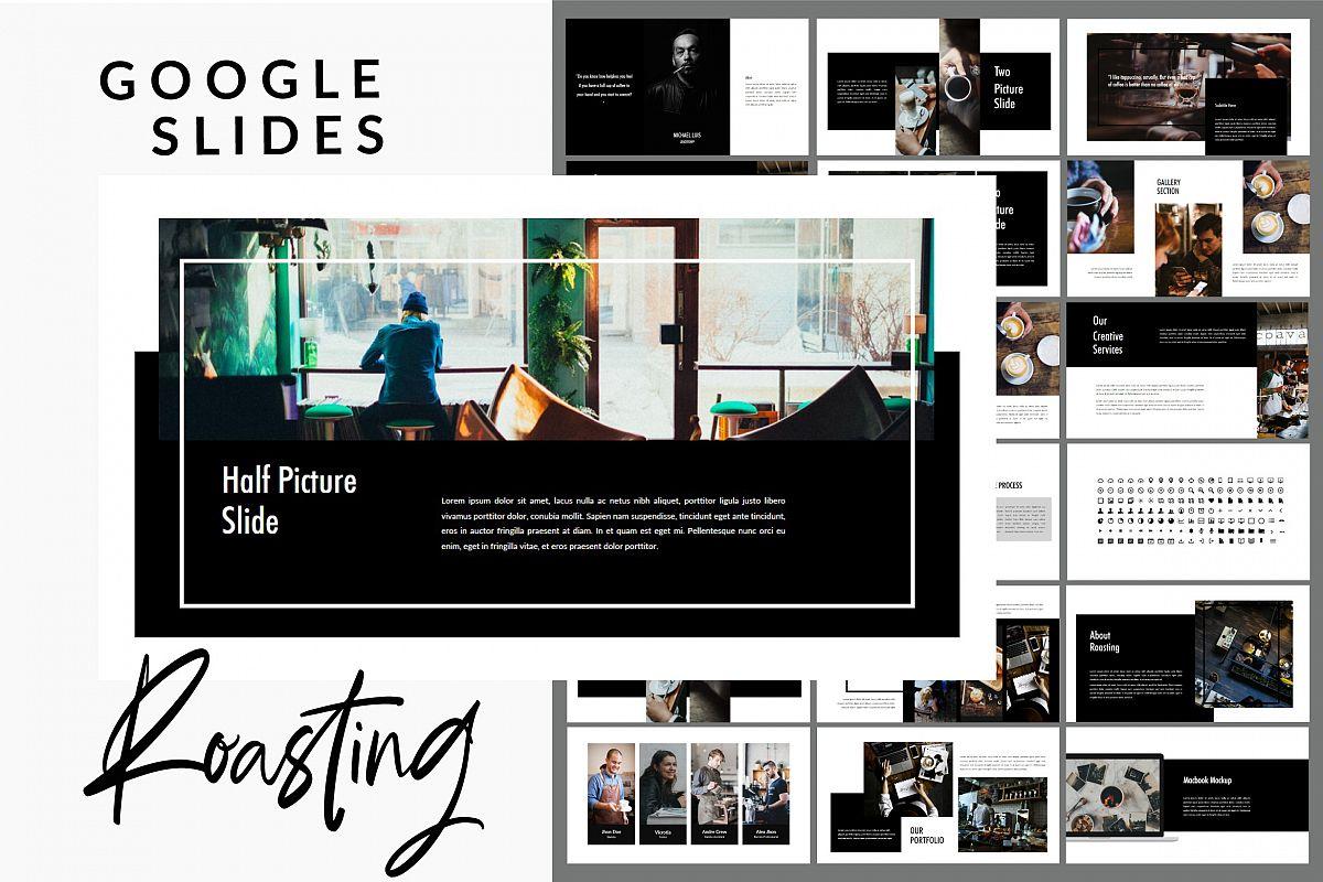 Roasting - Creative Google Slides Presentation example image 1