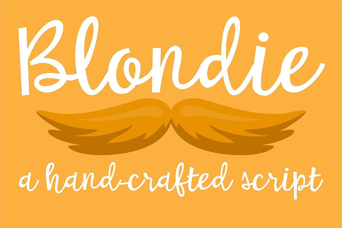 PN Blondie example image 1