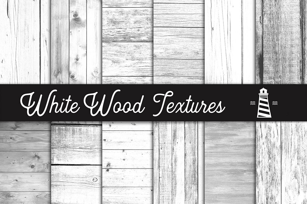White Wood Textures example image 1