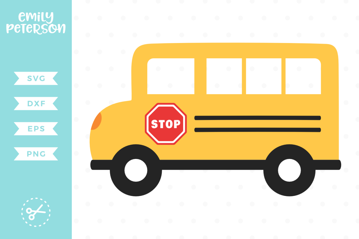 School Bus SVG DXF EPS PNG