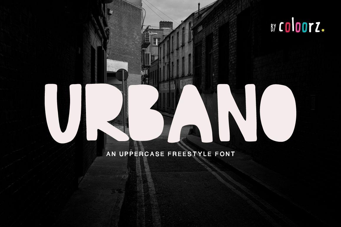 URBANO Freestyle Font example image 1