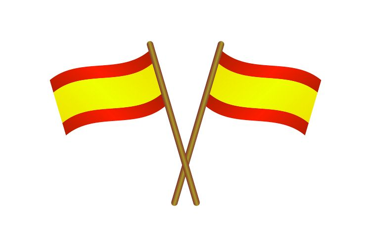 Spain flag example image 1