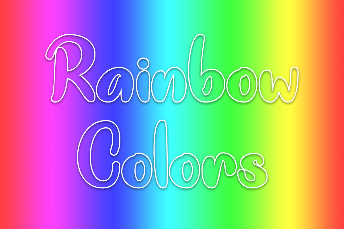 Rainbow Colors example image 1