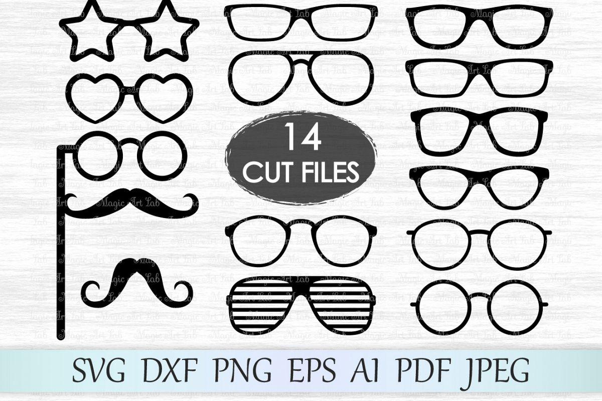 Glasses Svg Glasses Clipart Glasses Svg File Eyeglasses