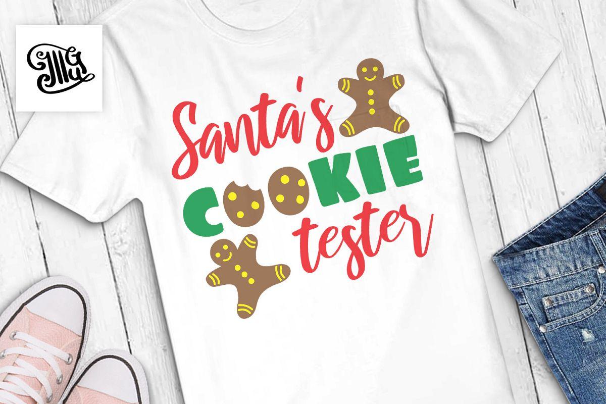 Santa's cookie tester - Christmas kids example image 1