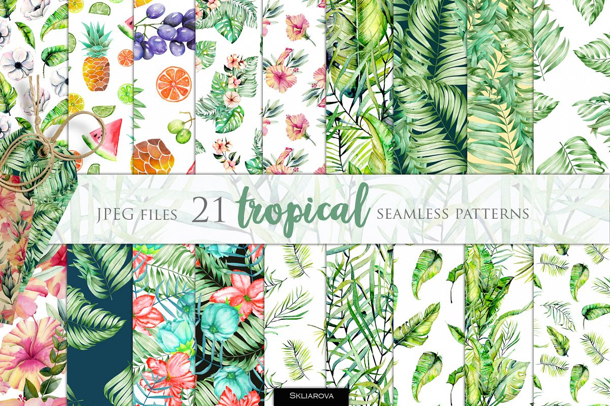 21 Tropical patterns example image 1