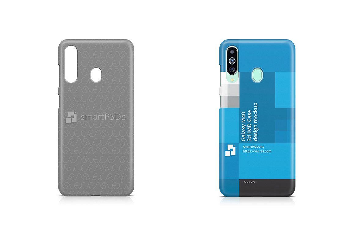 Galaxy M40 2019 3d IMD Case Design Mockup example image 1