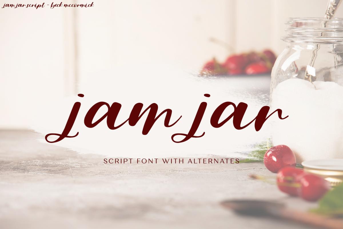 Jam Jar Script example image 1