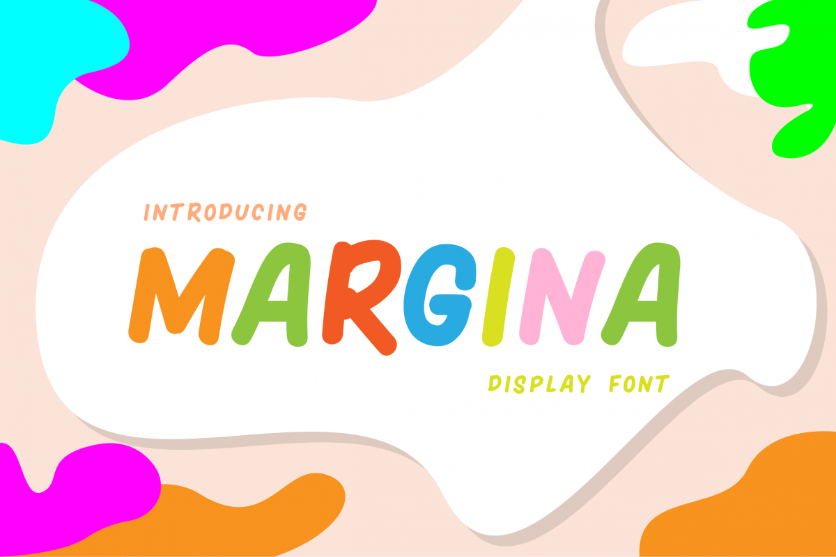 Margina Display Font example image 1