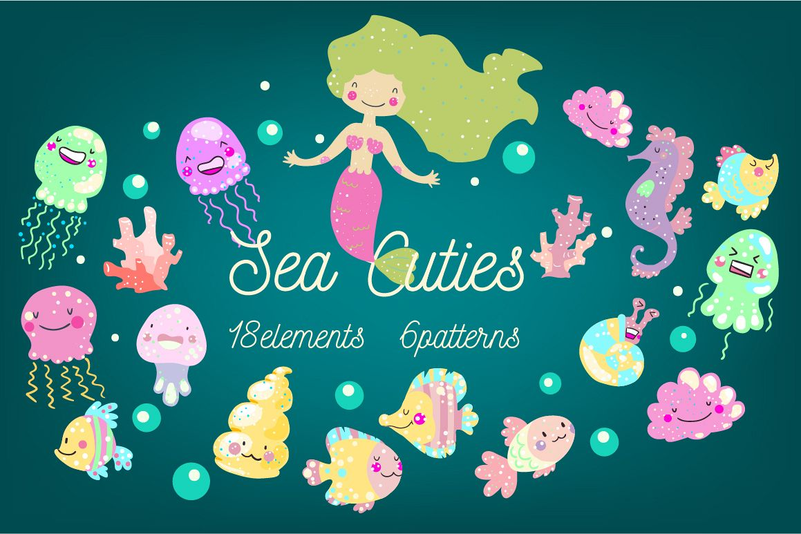 Sea Cuties example image 1