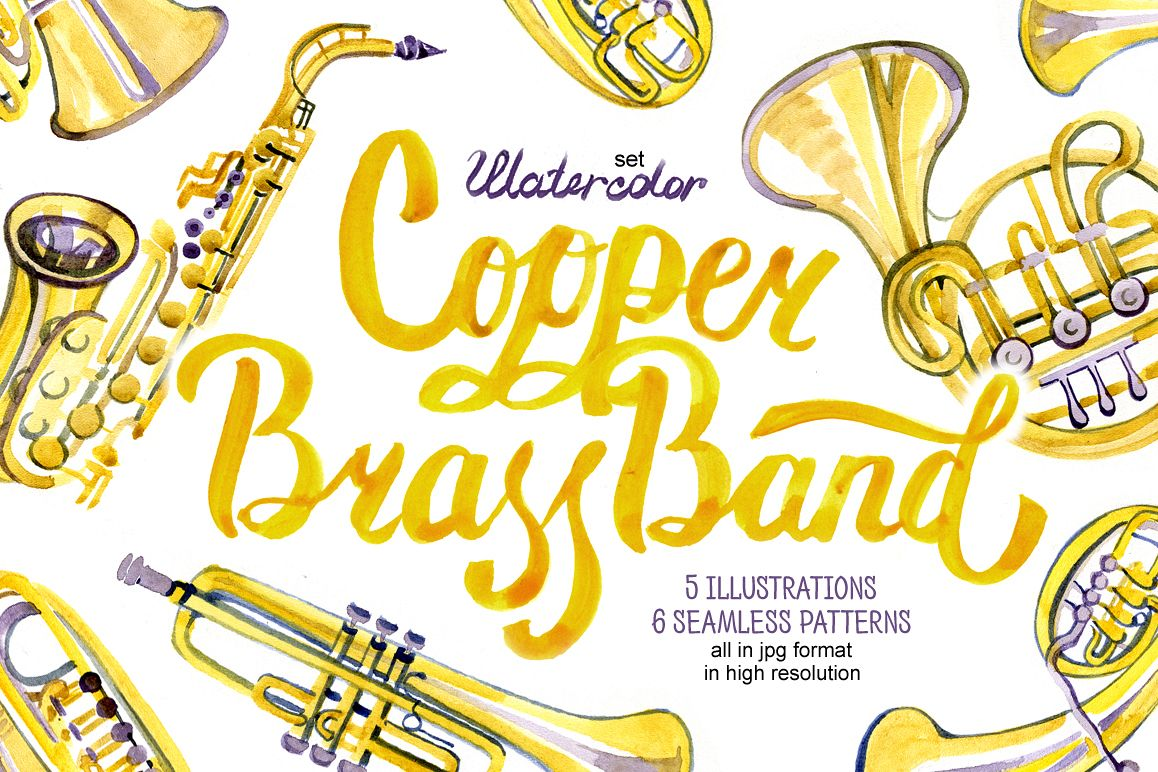 Copper brass band example image 1
