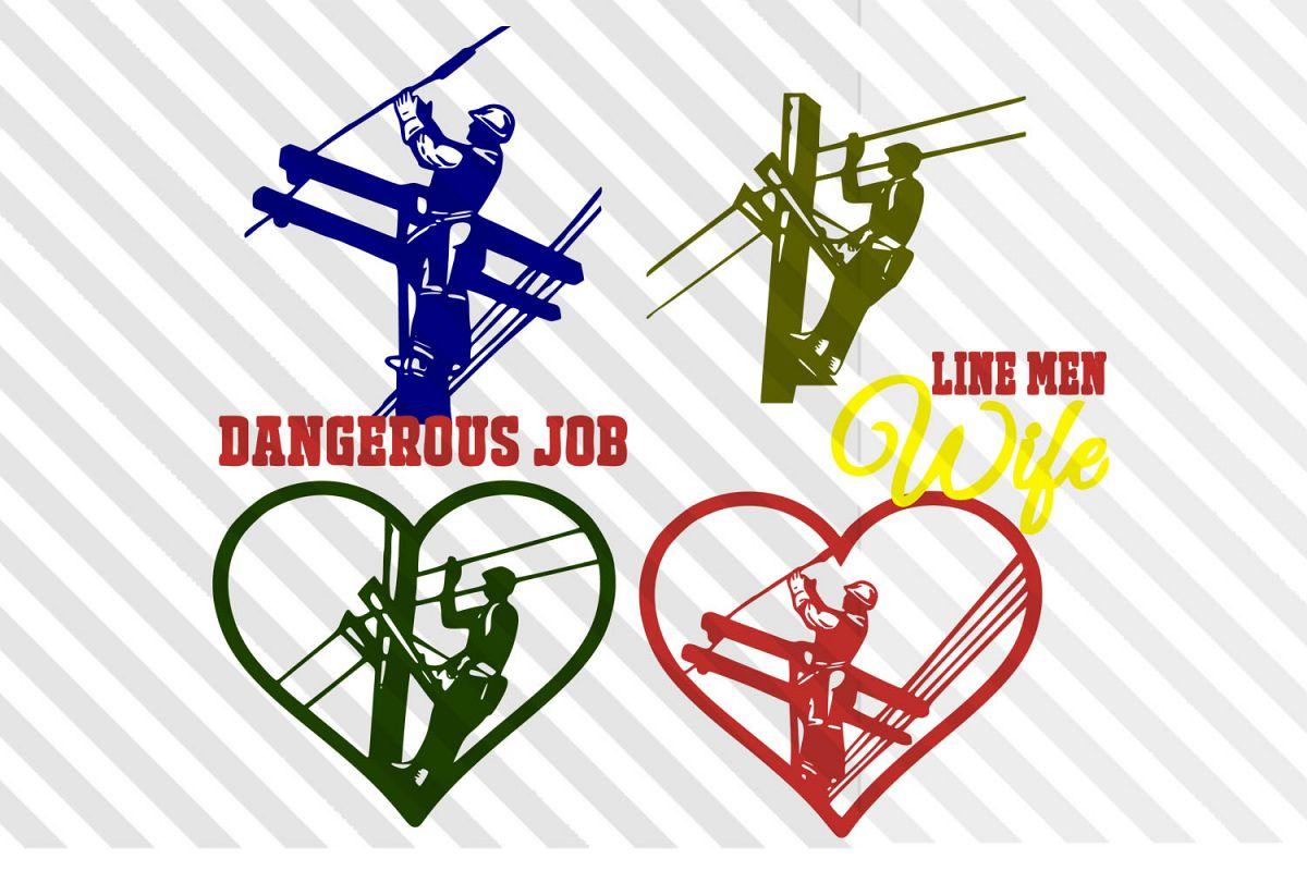 Line men ,wife,Men,logo,vector,clip art,icon,silhouette,SVG example image 1