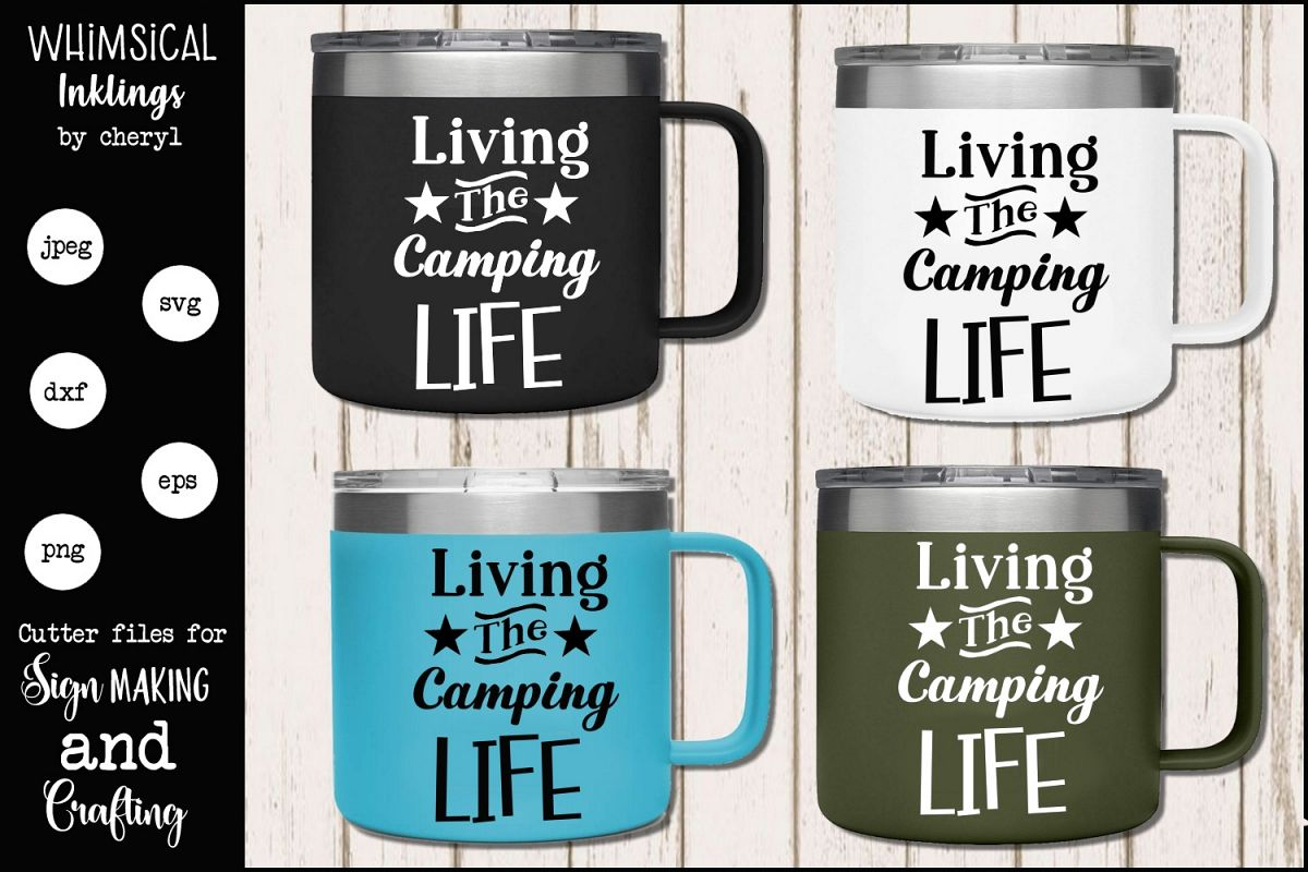 Camping Life SVG example image 1