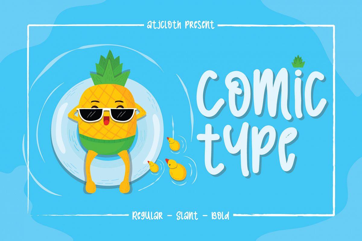 Comic Type example image 1