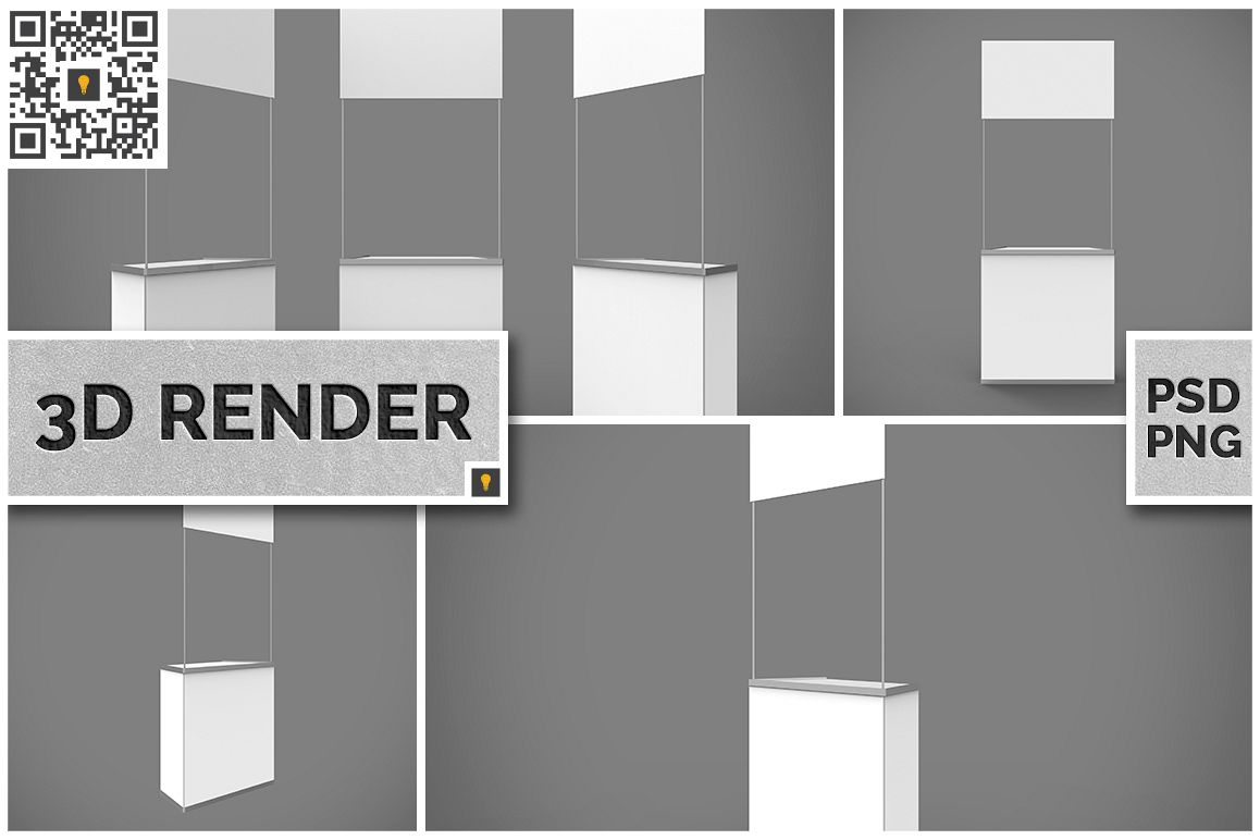 Promo Counter 3D Render example image 1