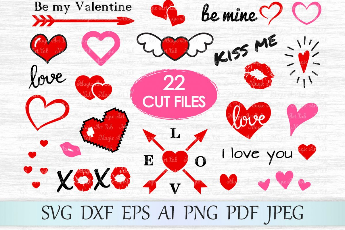 Heart svg, Love svg, Valentine svg, Valentines day svg example image 1
