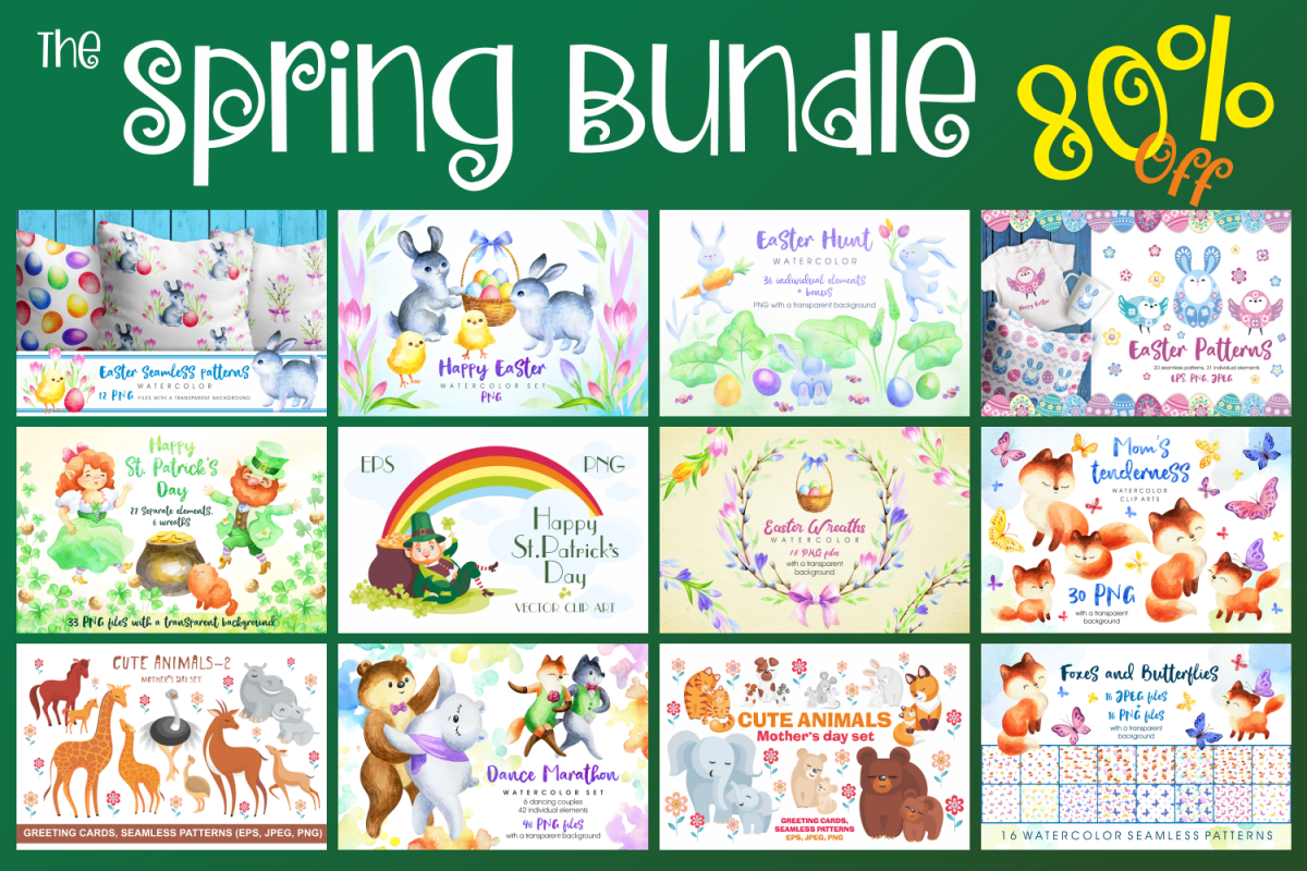 The Spring Bundle example image 1