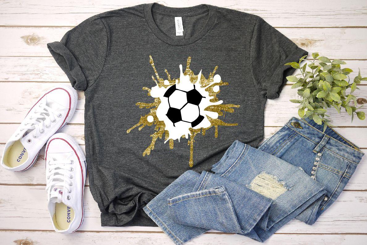 Soccer svg splash soccer ball svg clipart art mom example image 1