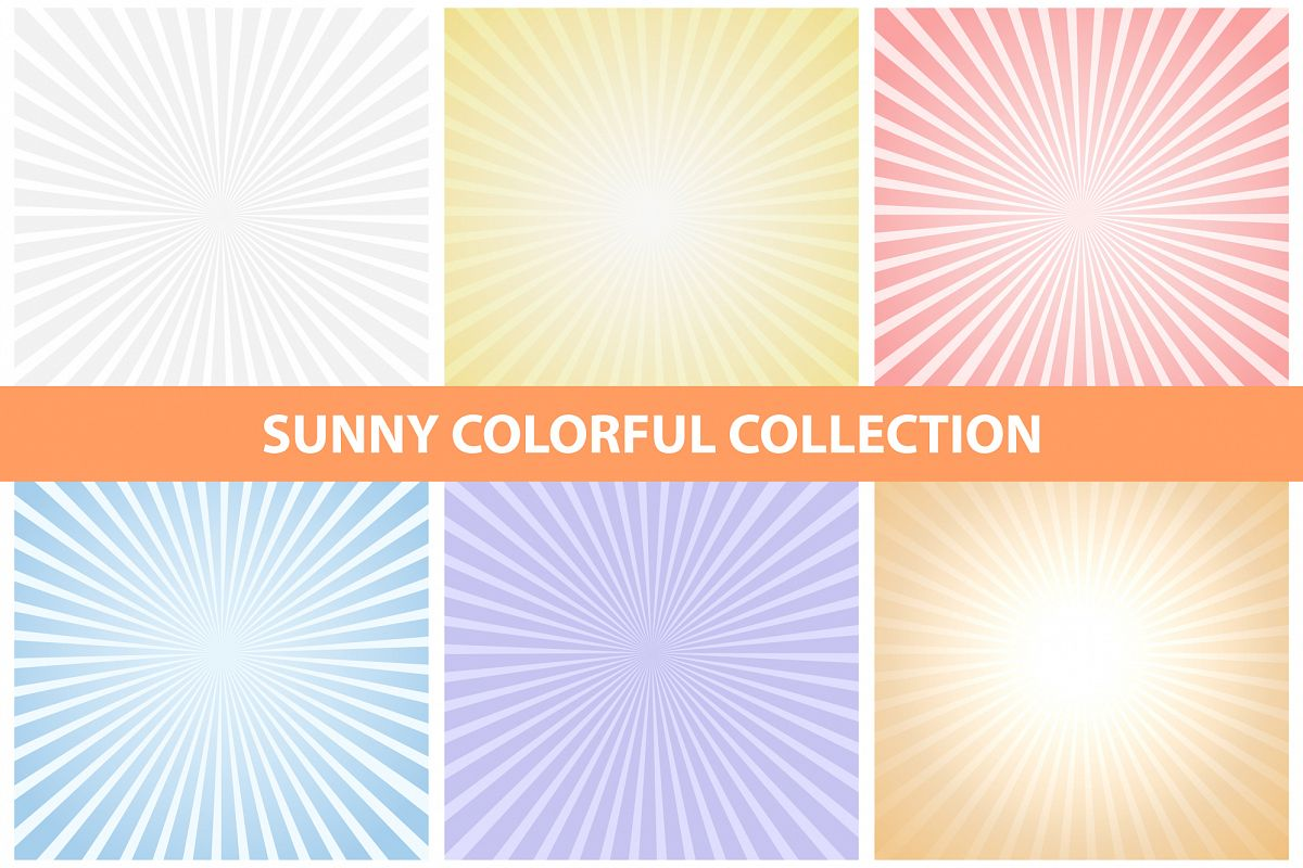 Sunny colorful collection. example image 1