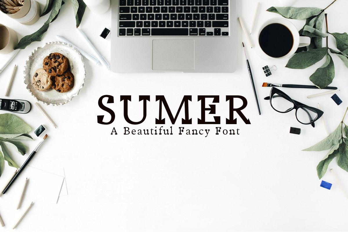 Sumer Fancy Font Family example image 1