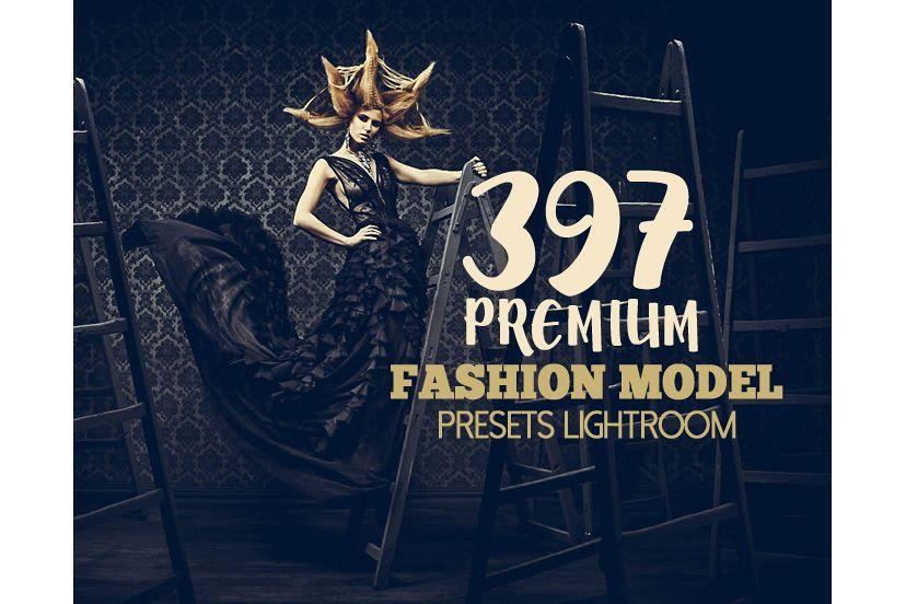 397 Premium Fashion Model Lightroom Presets (Preset for Lightroom 5,6,CC) example image 1