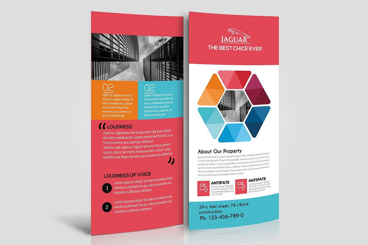 corporate event rack card template