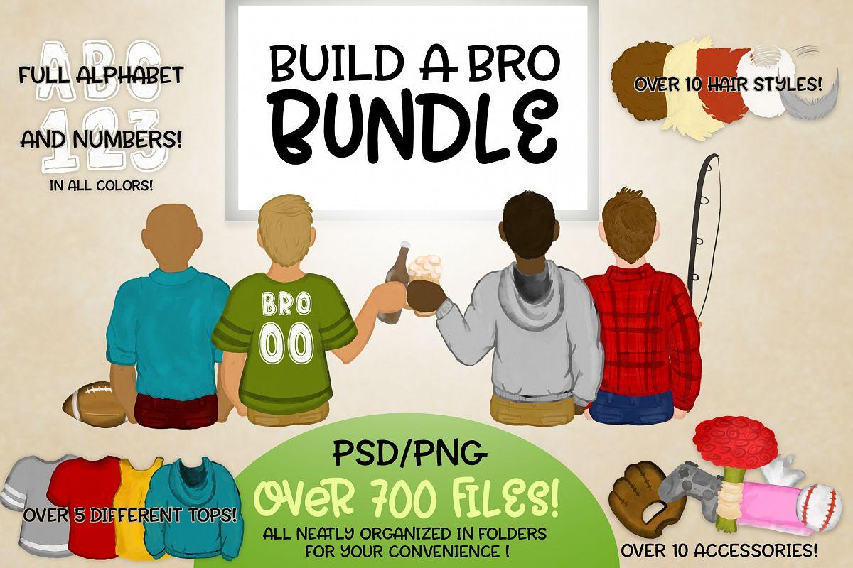 Build a Bro Bundle | Character Builder | Boy Version example image 1