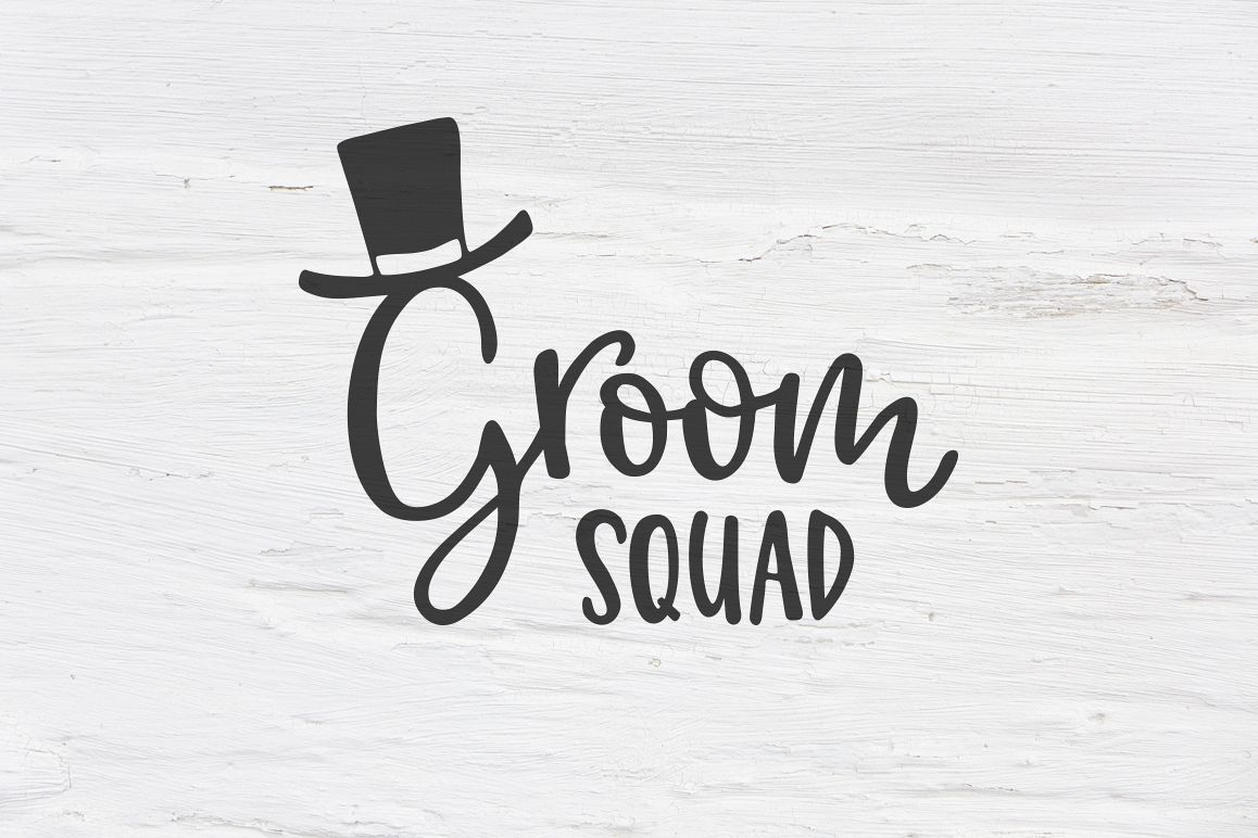 Groom Squad wedding SVG 3d4af963a372