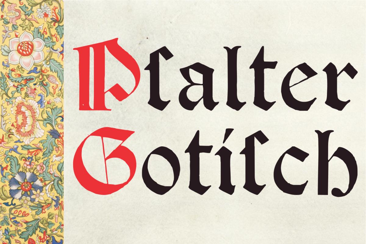 Psalter Gotisch example image 1